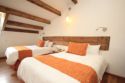 Double room at Hotel Cuidad Real Centro Historico